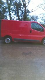 great driving van clean inside and out