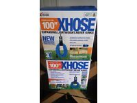 Brand new 100ft Xhose (Expands up to 3X it's original size)
