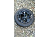 Wheel, tyre and toolkit from Citroen C3