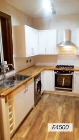 Complete KITCHEN FITTING from £4499 !!!