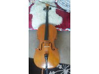 Beautiful smaller full size Cello for sale by Vlad Keppert 1976