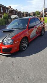 Subaru Impreza wrx sl prodrive not bmw Audi Evo skyline raptor crf