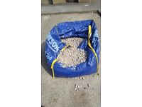 Free half bag of aggregate
