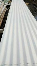 Corrugated roofing cladding sheets