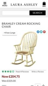Laura Ashley Bramley Rocking Chair now £80 was £325