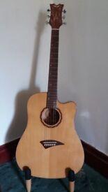 Dean Tradition Exotic Cutaway - Mapa Buri (TEC MPB) Electric Acoustic Guitar