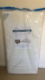 Cot matteress brand new in packaging 120x60