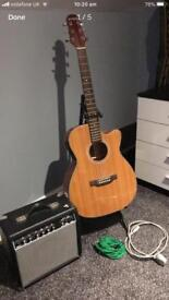 Electric/acoustic Guitar Ashland by crafter
