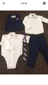 12-18 months Boys Next Suit, Shirts and Tie (only worn once)