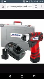 Mini cordless machine polisher £60