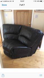 Corner sofa section