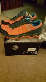 Ons cloudventure size 9uk. Flame and shadow