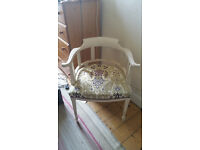 Attractive upcycled captians chair