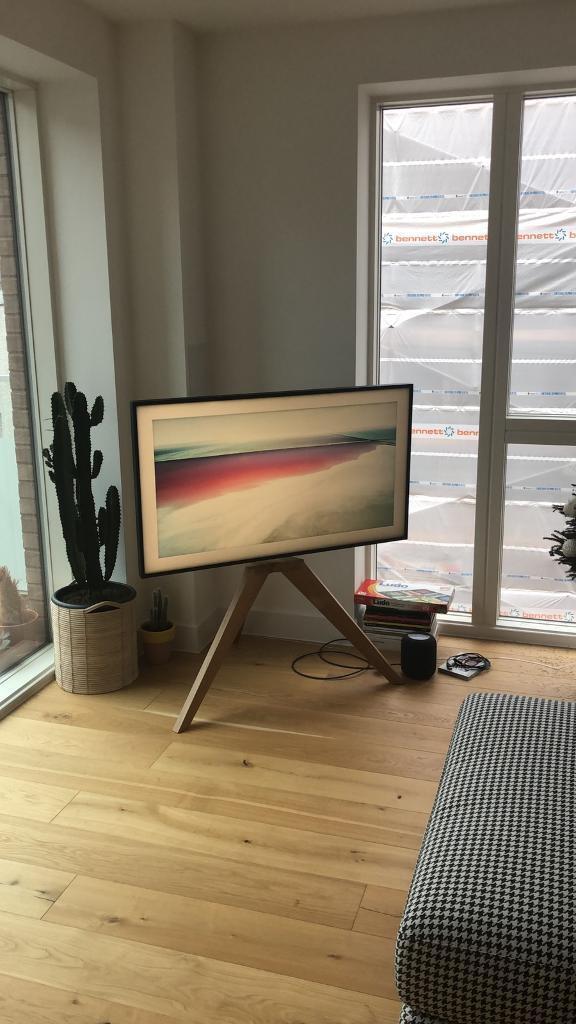 Vogel S Next Op1 Tv Floor Stand Light Oak In London