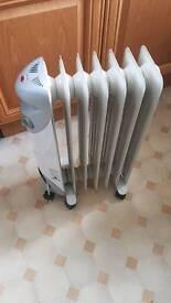 Dimplex oil-filled radiator electric heater.