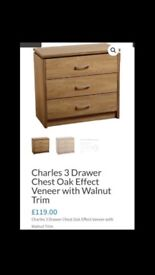 Brand New Chest of Drawers (still in box)