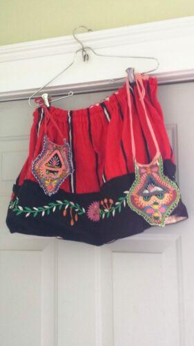 Vintage Handmade Romanian Folk Dance Skirt
