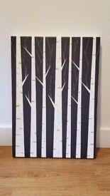 """Society6 Canvas: Birch Forest by FLATOWL, medium 17"""" (w) x 24"""" (h)"""