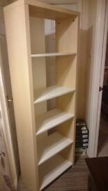 Book case unit cabinet as new