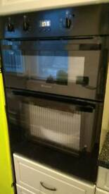 HOTPOINT UH53K Electric Double oven Oven