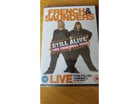 French & Saunders - Still Alive The Farewell Tour DVD Brand New in Wrapper