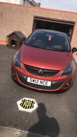 Vauxhall Corsa 1.2 Limited Edition 2012 3 Door Low Mileage Full year Mot Full Service History