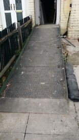 Disability/Wheelchair Access Ramp. Adjustable Height