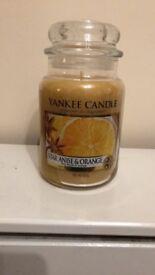 Yankee Candle Large Jar Star Anise & Orange