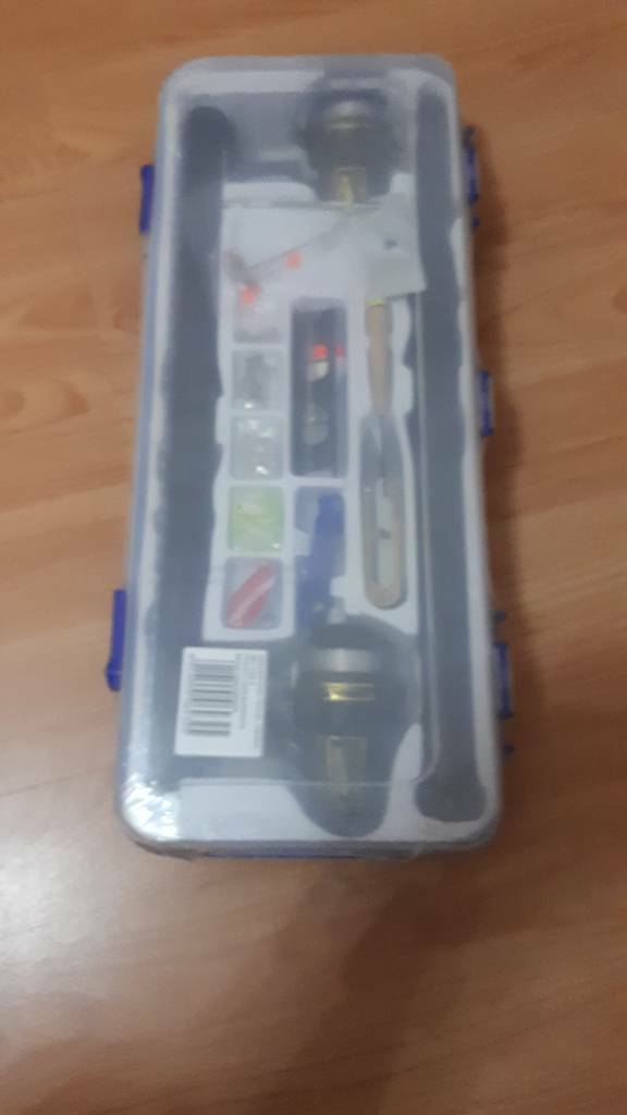 Travel fishing set for 2 new & sealed