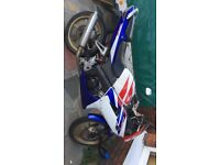 Honda cbr 125r, 6 gear, red white and blue, recent service new battery and oil, runs very well.