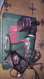 Bosch Green PSR-14.4-VE-2 14.4 Volt Cordless 2-Speed Drill Driver