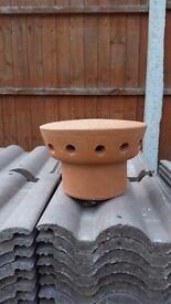 Chimney pot for sale. Brand new.
