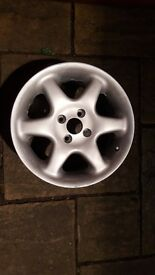 4x VW Alloy wheels newly repainted 4x100
