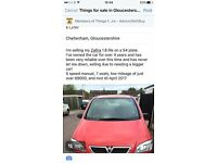 vauxhall zafira 7seater for sale
