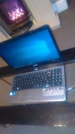 Acer Aspire 5732z Laptop. Dual Core 4GB Ram, 200gb HDD, Win10 Pro, Webcam, Card Reader, DVD RW etc