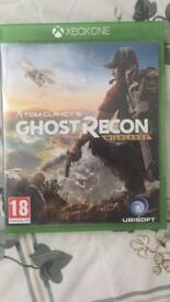 Tom clancys ghost recon Xbox one