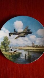 Royal Doulton Lancaster Low Overhead limited edition collectors plate