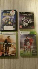 4 x xbox and game cube games