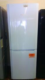 HOTPOINT fridge freezer 70cm , new Ex display