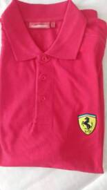 Men's NEW Ferrari Polo size L