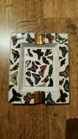 Zara Home ceramic butterfly ashtray