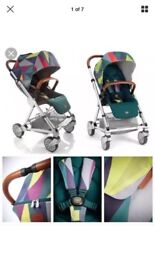 MAMAS AND PAPAS URBO 2 SPECIAL EDITION STROLLER AND CARRYCOT