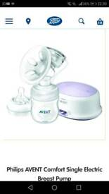 Philips avent natural breast electric breast pump brand new
