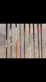 Golf tour issue driver shafts taylormade
