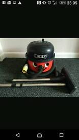 Henry hoover 110volt in box with new accessories