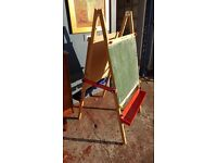 Double Sided Children's Art Easel in Good Condition