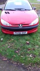peugeot 206 van for sale