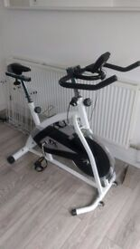 As new indoor spin exercise bike
