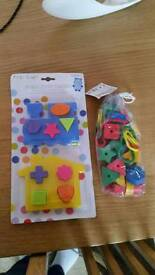 Baby/toddler toys new with tags