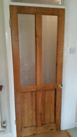Three Internal Pine Doors
